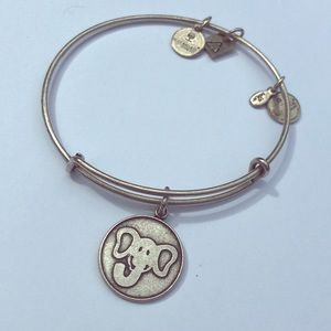 Elephant Alex and Ani bracelet